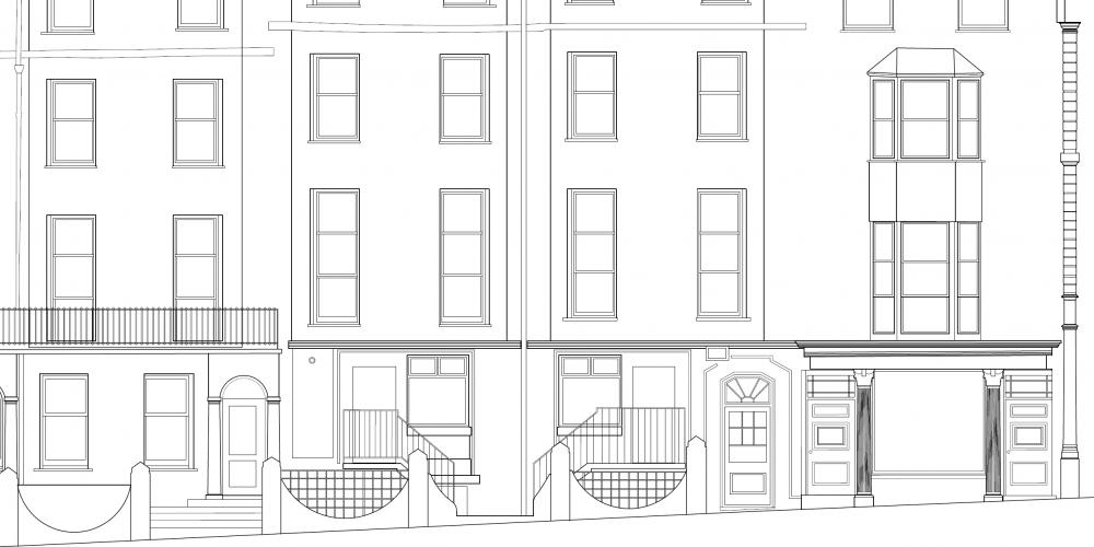 As-built 2D External Elevation