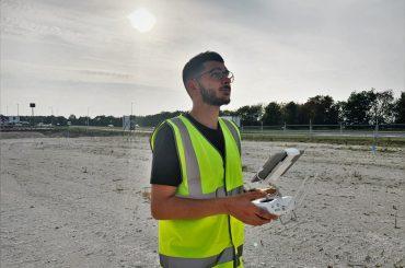 Surveyor completes aerial drone survey